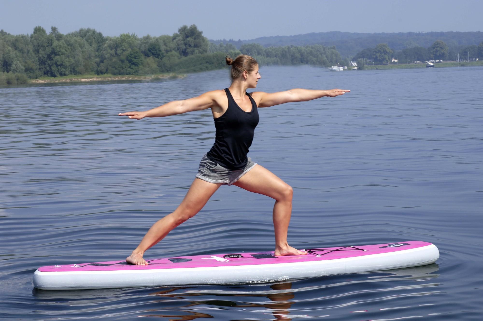 Sup Yoga En Fitness Stand Up Paddle Speciaal Voor Het